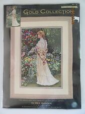 Dimensions The Gold Collection In Her Garden Counted Cross Stitch Kit #35119