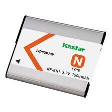Kastar BN1 Battery for Sony NP-BN1 Type N Cybershot DSC-QX10 TF1 TX10 W830 WX220