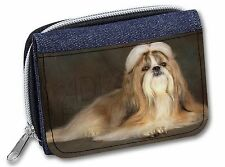 Beautiful Shih Tzu Dog Girls/Ladies Denim Purse Wallet Christmas Gift , AD-SZ1JW