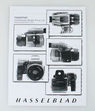 HASSELBLAD DEALER PRICE LIST 2002 ((XEROX COPY))