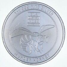Rare Silver 1 Oz. Murder Hornet Round .999 Fine Silver *476