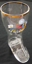 Orig.glass / glass boots    Olympic Games MÜNCHEN 1972  !!  VERY RARE