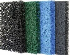 """4-Pack Matala Filter Sheets 24""""x39""""-media for koi ponds-filtration-four colors"""