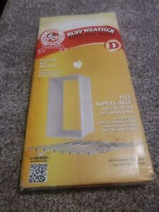 Ideal Pet Products Ruff-Weather Wall Kit Super Large White D NIB NEW FAST SHIP