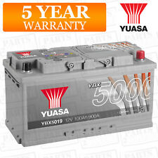 Car Battery YBX5019 Calcium Silver Case SMF SOCI 12V 900CCA 100Ah T1 by Yuasa