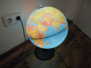Leuchtglobus 30 cm, Karte von 2017, 2 Watt LED-Lampe, Länder mit Farben