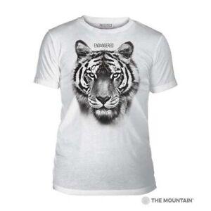 Mountain Adult Tri-blend T-shirt Endangered