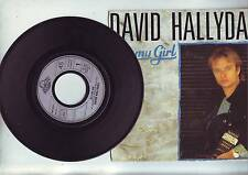 45 tours david hallyday - he's my girl / church of the poison spider