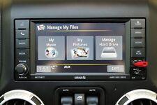 MOPAR® FACTORY OEM 430 RBZ RADIO 30GB HDD CD DVD PLAYER SIRIUS MYGIG HIGH SPEED