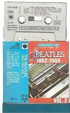 THE BEATLES cassette K7 tape 1962-1966 vol 2 french '76 pressing blue case