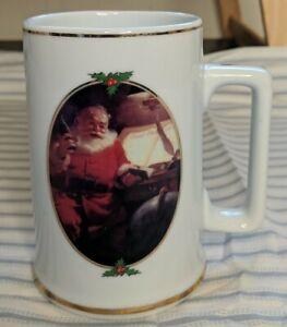Vintage 1996 Coca Cola Santa Good Boys & Girls Collector Edition Mug