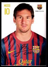Leonil Messi Autogrammkarte FC Barcelona TOP