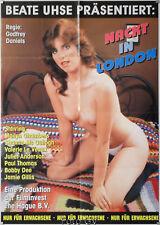 Orig.-Filmplakat A1 Nackt in London-Hell on Heels 1983 Marilyn Chambers Erotik
