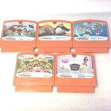 Vtech Vsmile Vmotion Lot of 5 Learning Game Cartridges Only