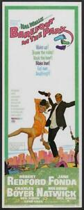 Barefoot in the Park Movie POSTER 14 x 36 Robert Redford, Jane Fonda, A
