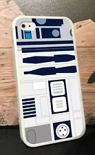 IPhone 4s R2-D2 Star Wars Rebel Alliance New Republic White Soft Case Cover