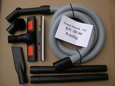 2,5m Saugschlauch - Set 9-tlg DN38 Wap Turbo XL XL-E XL-25 XL-SW Euro Sauger