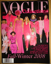 Vogue Paris Collections #4 Fall Winter 2008 Chanel Prada Gucci Versace French
