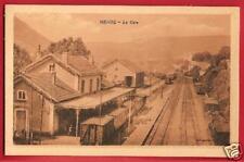 CPA Phot Combier Mâcon postcard station wagons La Gare MENDE 48 Lozère [682 R]