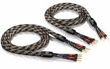 8 00m ViaBlue Sc-4 Bi Wire con Puntali 8 0m 8m (1 Coppia)