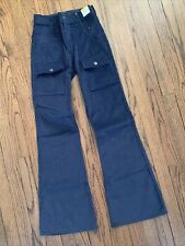 Levis Cords Vintage 70s 24x29 (Women's Size 1 / 2) Bell Bottom Bootcut New NWT