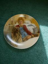 New listing Annie and Sandy Knowles 1982 Collector Plate Plate # H1766 Little Orphan Annie