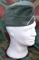 Bustina militare tedesca M38, feldmutze, WW2 German wool military side cap Erel
