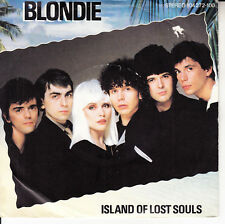 """BLONDIE  Island Of Lost Souls PICTURE SLEEVE 7"""" 45 record + juke box title strip"""