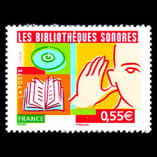 France 2008 - Audio Libraries - Sc 3422 MNH