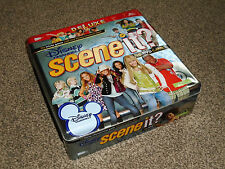 DISNEY CHANNEL DELUXE SCENE IT ? : TIN BOX TRIVIA DVD GAME IN VGC (FREE UK P&P)