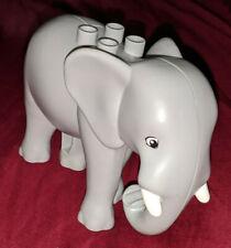 Lego Duplo Animal 1 x Elephant Tusks NEW Light Grey Zoo Animal Park 5634 4583385