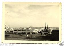 Gare Maritime Alger port Algérie - photo ancienne snapshot an.1950