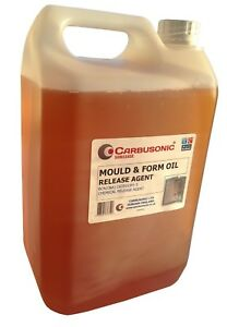 Mould release oil Chemical releasing agent for concrete  5 Litres Free delivery
