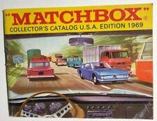 MATCHBOX 1969 48-page full color Collectors Catalog U.S.A. Edition