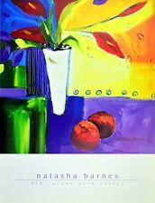 Natasha Barnes Rote Calla mit äpfeln Poster Kunstdruck Bild 40x30cm