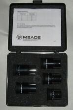 Meade Ma Telescope Eye Piece Set 6 mm 12 mm 17 mm 20 mm 25 mm