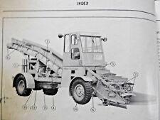1950's J D ADAMS No 30 TRAVELOADER ROAD GRADER TRACTOR MAINTENANCE PARTS MANUALS
