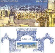 BLOC SOUVENIR PHILATELIQUE NANCY 2005 N° 14 **