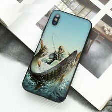 Funda de Pesca Pescador iPhone 5 6 6S 7 8 + Plus Xr XS 11 Pro Max X SE 2nd