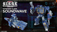 New Transformers Generations War for Cybertron Siege Voyager Soundwave Wave
