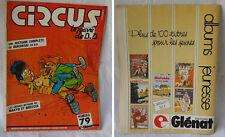 Circus le pavé de la BD n°79 novembre 1984 - magazine revueg