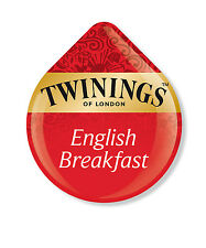 24 x Tassimo Twinings English Breakfast Tea T-Disc (VENDUTE SCIOLTE)