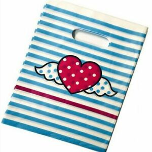 Party Gifts Packaging Bags Birthday Candies Cookies Pouch Cute Storage Bag 10pcs