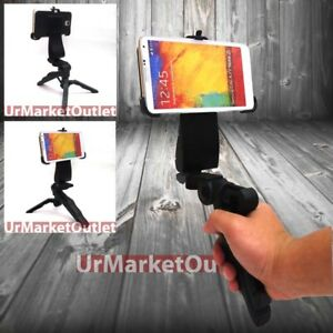 Portable Hand Tripod Stand+Adapter Mobile Mount Fit Samsung Galaxy Note/S/Edge