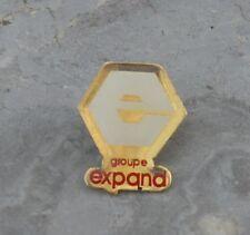 Pin's Groupe Expand, fin des années 1980-début des années 1990