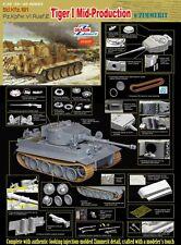 DRAGON 6700 1/35 Sd.Kfz 181 Pz.Kpfw.VI Ausf.E Tiger I Mid-Production w/Zimmerit