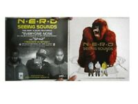 Nerd N.E.R.D. Poster Flat 2 Sided Seeing Sounds The Neptunes Pharrell Williams