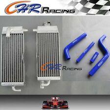 aluminum radiator & silicone hose FOR Yamaha YZ125 1996-2001  97 98 99 2000 2001