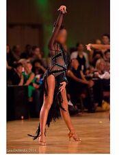 BALLROOM LATIN RHYTHM COMPETITION DANCE DRESS