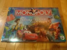 Monopoly - game pieces - Disney Pixar (2007) - choice of lots - as shown